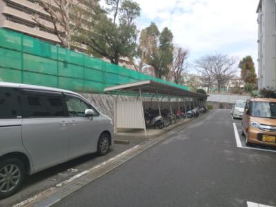 駐輪場☆神戸市垂水区小束山 小束山住宅2号棟☆