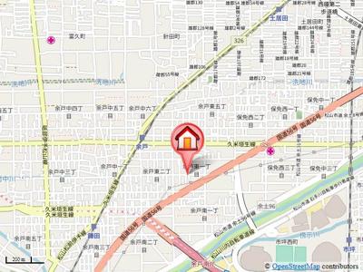【地図】モンテ グリシーヌⅡ