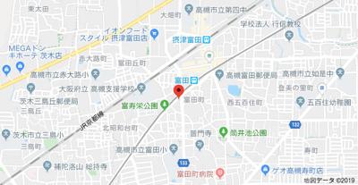 【地図】ガーデンハイツ