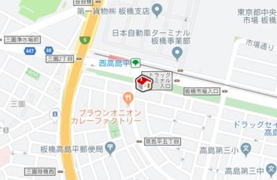 【地図】ヴィアロ高島平レジデンスB(59315-104)