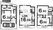 伏見区桃山水野左近西町 新築戸建の画像