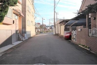 【前面道路含む現地写真】伏見区桃山水野左近西町 新築戸建