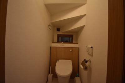 【トイレ】人気の街 浅草 築浅の素敵な一戸建
