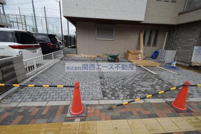 【駐車場】シャーメゾン扇