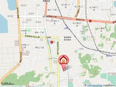 【地図】シャンボール・ヴィラ