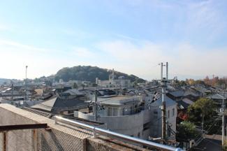 既存建物屋上からの眺望