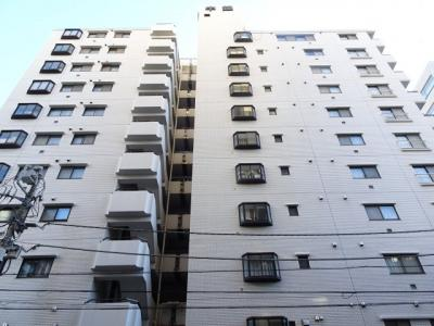 中銀第2東上野マンシオン 鉄骨鉄筋コンクリート造の11階建て外観タイル張りの分譲タイプマンション。銀座線稲荷町駅から徒歩3分・山手線上野駅から徒歩5分の好立地。スーパーなども近くで買い物も便利。