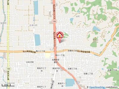 【地図】ステラ プレッソB
