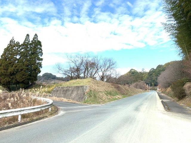 【前面道路含む現地写真】山鹿市菊鹿町売地