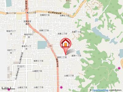 【地図】プリンセスガーデンK・Ⅰ