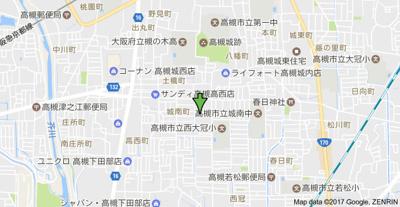 【地図】グリーン城南 株式会社Roots