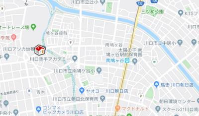 【地図】レオパレスブリエスト(39382-205)