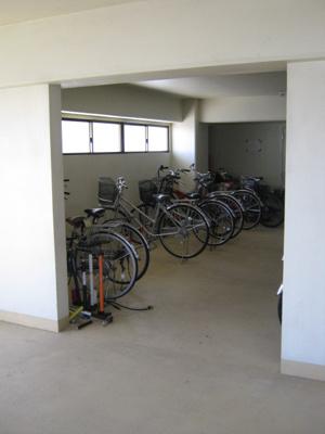 駐輪場があります