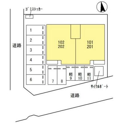 【区画図】ルミエール イリゼ
