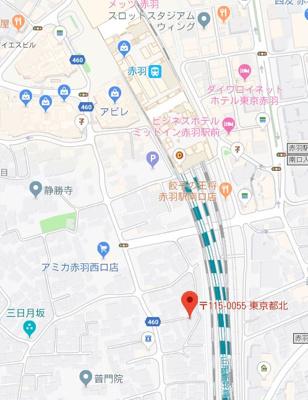 【地図】ステージ赤羽西