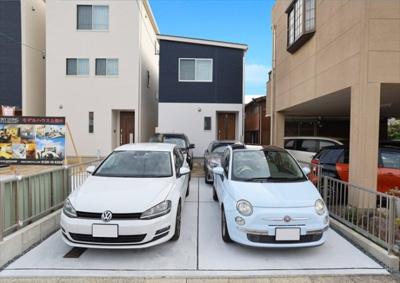 普通車4台も駐車可♪♪