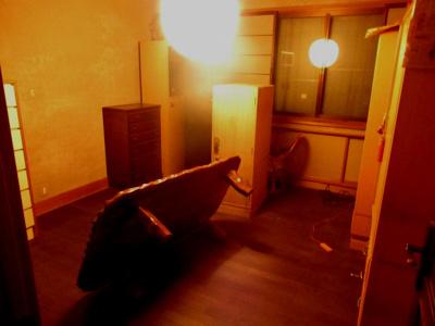 【洋室】能代市追分町・中古店舗兼住居