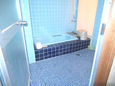【浴室】能代市追分町・中古店舗兼住居