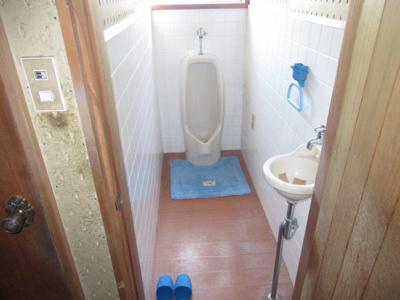 【トイレ】能代市追分町・中古店舗兼住居