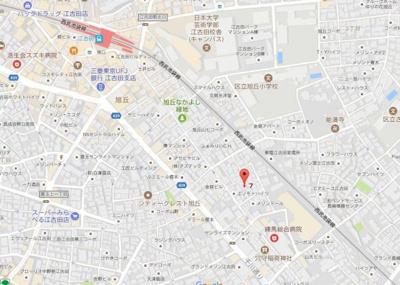 【地図】ピタゴラス江古田