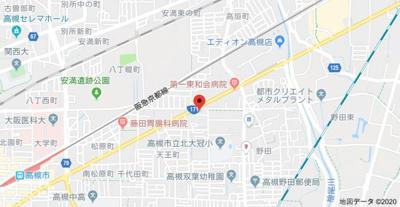 【地図】サンハイツI