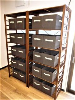 キッチン収納BOX。シェアハウス本厚木