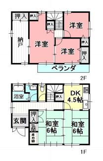 【外観】53800 岐阜市長良桜井町中古戸建て