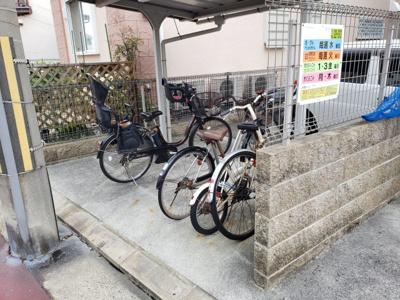 駐輪場☆神戸市垂水区 セレーノ五色山 賃貸☆