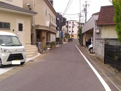 【前面道路含む現地写真】松戸市東平賀