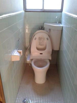 【トイレ】柏市亀甲台