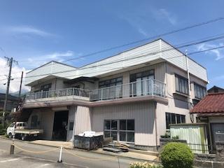 【外観】駒ケ根市北町 中古住宅