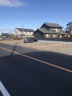 【前面道路含む現地写真】54351 羽島郡笠松町北及土地