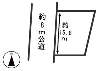 【区画図】54351 羽島郡笠松町北及土地