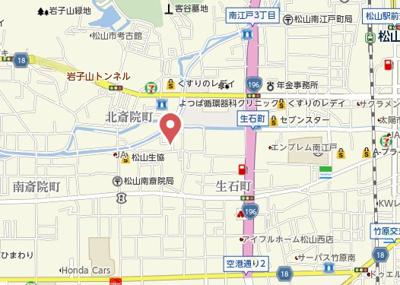 【地図】サンライズ山内