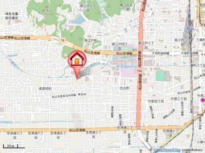 【地図】エヴァグリーン南斎院