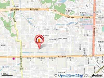 【地図】サンビレッジ空港通B