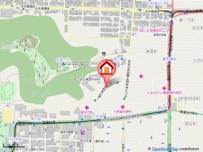 【地図】アットファミリア・