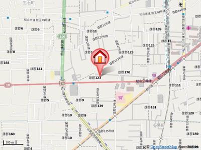 【地図】空港中央ビル