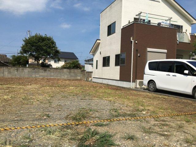 【前面道路含む現地写真】錦町糠塚 売土地