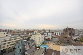 【展望】朝日プラザパレセーヌ