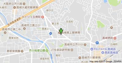 【地図】バーンフリート真上 (株)Roots