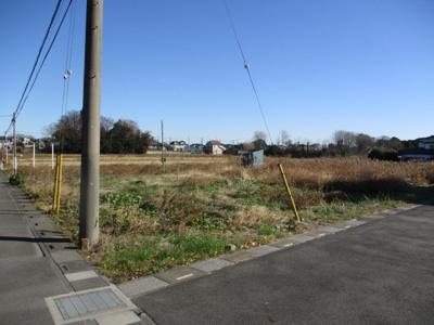 【外観】桶川売地
