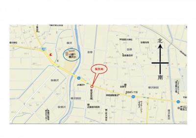 【地図】深谷市榛沢新田871-1