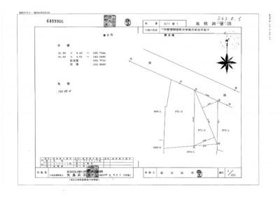 【区画図】深谷市榛沢新田871-1