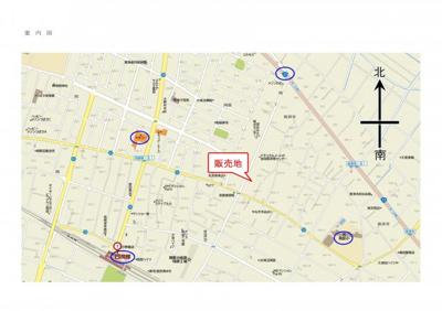 【地図】深谷市普済寺1412-26
