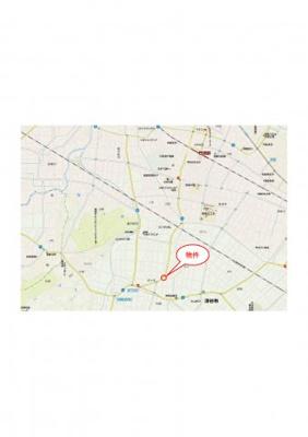 【地図】深谷市針ケ谷字東谷984-2