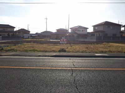 【前面道路含む現地写真】深谷市岡1丁目1番6