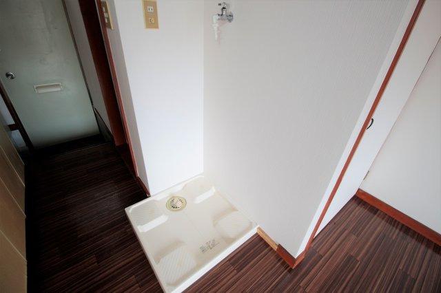 洗濯機置き場は室内のあります♪
