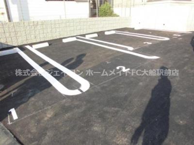【駐車場】エクレール原宿