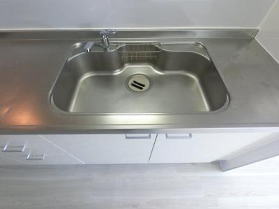キッチンシンクです。 洗い物もしやすそうです。